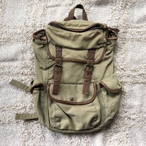 Urban Outfitters Ecote Military Green Backpack